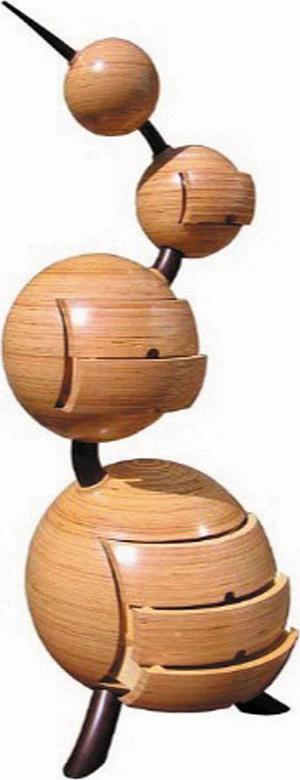 Скульптурные комоды и шкатулки Питера Рольфа (Великобритания)