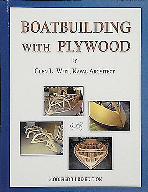Обложка книги Л. Глена «Строительство лодок из фанеры», переизданной в 1989 году