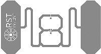 Рис. 5. Инлей TwinTag (а)и TwinTag mini (б)