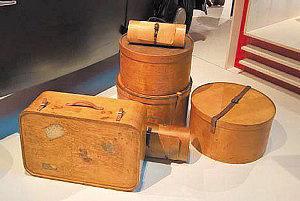 Изделия из фанеры – коробки, чемоданы