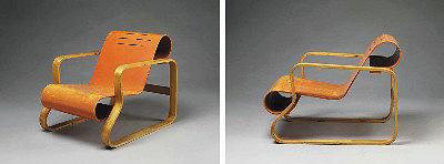 Кресло, спроектированное Алваром Аалто. Финляндия, 1932 год