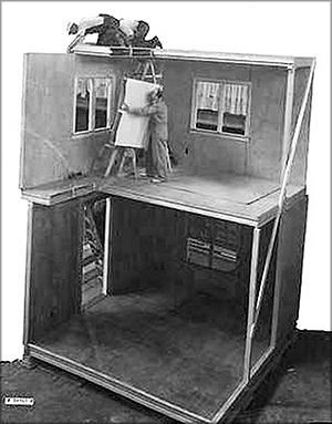 Использование фанеры в домостроении – полномасштабный быстровозводимый дом, построенный в г. Мэдисон в 1936 году