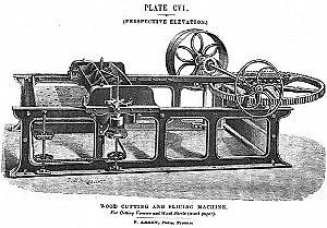 Горизонтальный строгальный станок Арбея. Франция, 1875 год