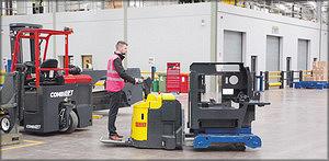 Combi-PPT грузоподъемностью 5 тонн в цеху предприятия