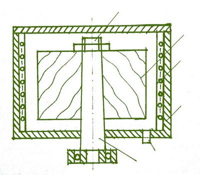 Рис. 3. Установка для получения модифицированной древесины пониженной плотности