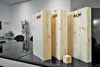 Рис. 4. Панели CLT австрийской фирмы KLH – одного из пионеров технологии поперечно-клееных панелей