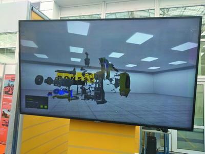 Обучение механиков ведется с помощью технологий виртуальной реальности