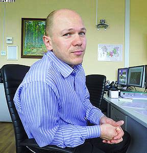 Заместитель директора Управления лесами Ленинградской области Олег Савчук