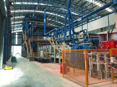Завод по производству МДФ Panel Plus, Таиланд