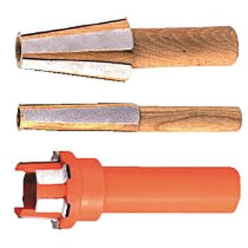 Рис. 9. Приспособления для чистки и подшлифовки патронов HSK