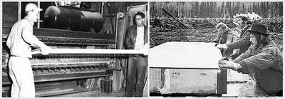 Рис. 3. Производство первых СИП с внутренним изоляционным слоем