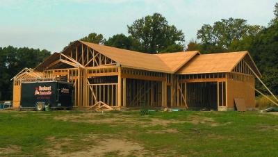 Строительство каркасного дома в США