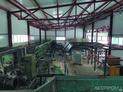Монтаж б/у оборудования в Республике Коми (иллюстрация к докладу Алексея Ананьева, компания Wood-Engine)