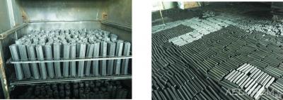 Карбонизированные брикеты (иллюстрация к докладу Алексея Ананьева, компания Wood-Engine)