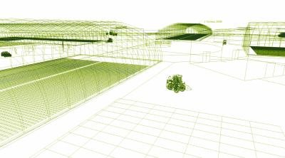 Рис. 7. Пример расположения объектов инфраструктуры