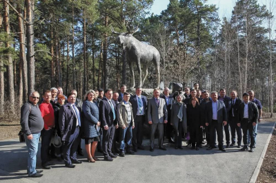 Участники форума в «Гилёвскаой роще»