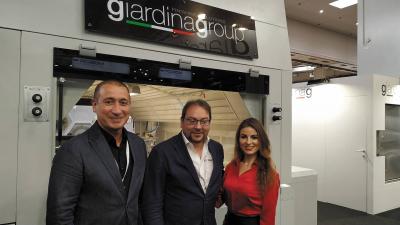 Стенд компании Giardina