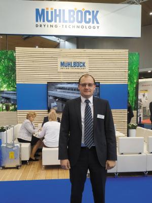 Представитель компании Mühlböck-Vanicek в России Михаил Шестак