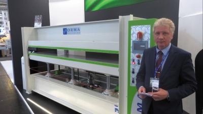 Ormamacchine S.p.A. представил новую версию базовой модели пресса – NPC Energy Savin