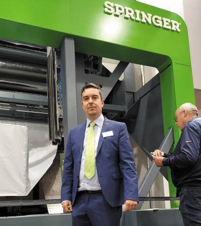Кристиан Эбер, руководитель направления автоматизации компании Springer