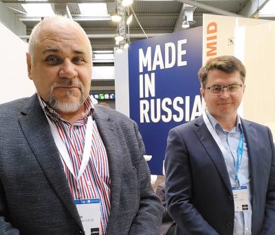 Директор компании «Автоматика-Вектор» Олег Смольков