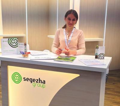 Стенд компании Segezha Group