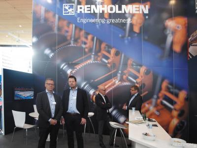 Стенд компании Renholmen