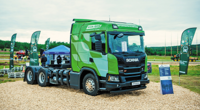 Scania G410A6x4NA с газовым двигателем