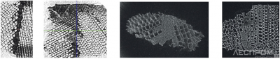 Рис. 1. Структура клеевого соединения при использовании разных ММФ-систем
