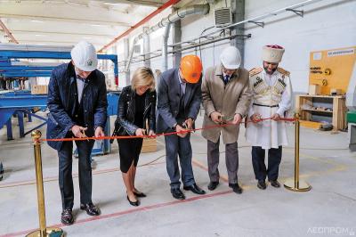 Открытие Уральского завода клееных деревянных конструкций