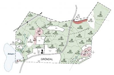 Рис. 3. Пример экологичного плана лесоуправления