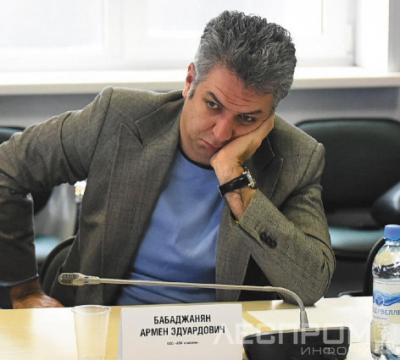 Армен Бабаджанян на судебном заседании