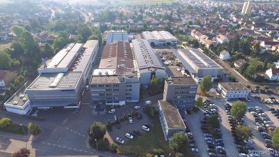 Головное предприятие компании Dieffenbacher в г. Эппинген (Германия)