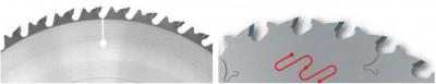 Рис. 2. Конструктивные особенности пил с ограничителями подачи разных производителей