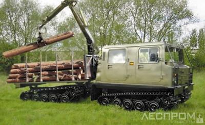 Рис. 4. Вездеход гусеничный Hagglund BV-206