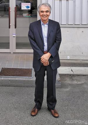 Президент Hida Sangyo Сандзё Окада