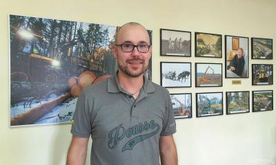 Туомас Песонен, технический специалист Ponsse