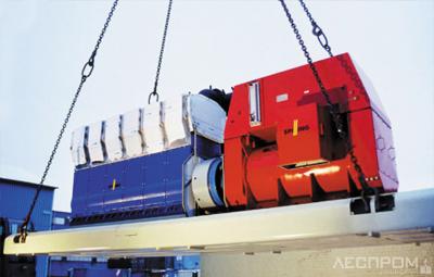 6-цилиндровый паропоршневой мотор 860 кВт Spilling