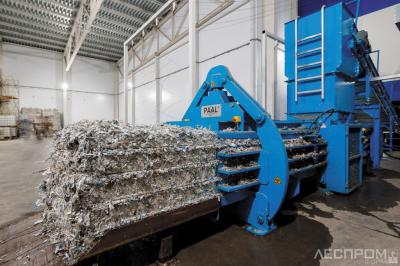 Запуск производства по переработке картонной упаковки Tetra Pak на базе липецкого предприятия Л-ПАК (Tetra Pak)