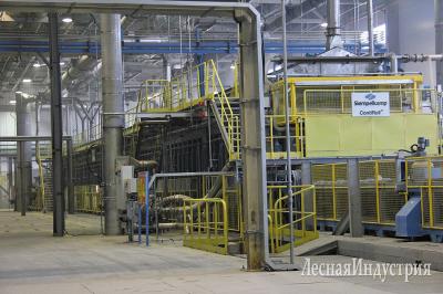 ООО ДОК «Калевала», завод по производству плит OSB