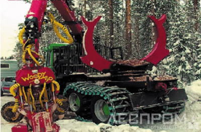 в – валочно-трелевочно-процессорная машина (производство сортиментов у лесовозной дороги);