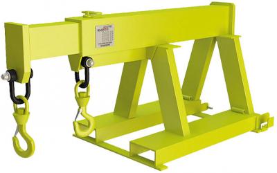 Кран-балка – навесное оборудование для вилочного фронтального погрузчика