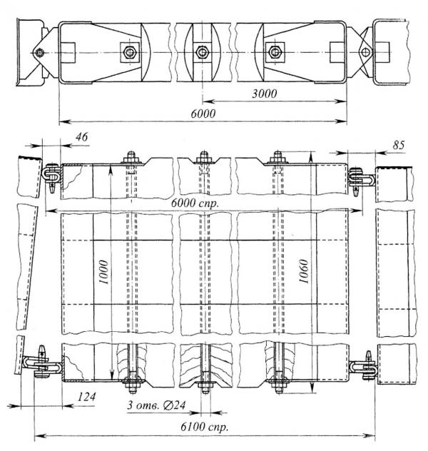 Рис. 2. Конструкция щита ЛВ-11