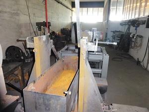 Установка для токарной обработки шкивов