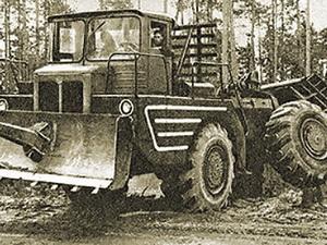 У Т-210 колеса работали сами по себе