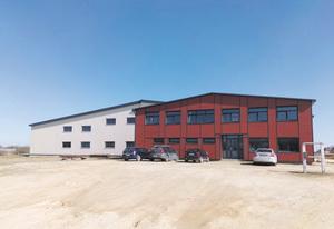 Здание завода Vesto