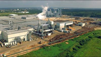 Завод компании Egger