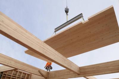Строительство деревянных домов из CLT-панелей