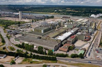 Завод UPM по производству газетной бумаги Chapelle в г. Кран-Курон, Франция