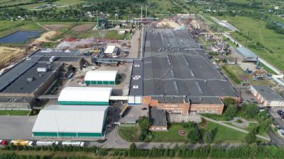 Производственные мощности завода UPM Чудово в Нижегородской области